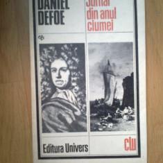 d10 Daniel Defoe - Jurnal din anul ciumei