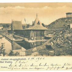 4632 - OCNA-SIBIULUI, Litho, Romania - old postcard - used - 1904, Circulata, Printata