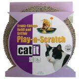 Rezerva pentru Play-n-Scratch, din carton ondulat, maro