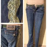 Blugi Dolce & Gabbana originali - 38 - M, Albastru, D&G