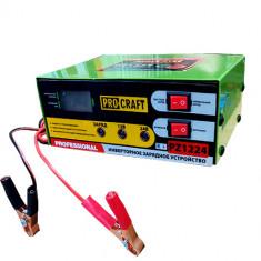 Redresor 12-24V, incarcare 10A, 6-100 Ah, ProCraft PZ-1224, Baterii Auto si Acumulatoare