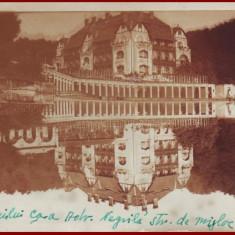 1943 CP ilustrata Ocna Sibiului circulata cu stampila cenzura SIBIU 8
