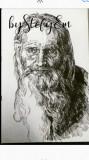 Reproduceri fotografii,in tuș negru sau creion , la comanda ,A4, Portrete, Cerneala, Realism, General