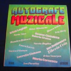 various - Autografe Muzicale _ vinyl,LP _ Electrecord ( 1985, Romania)