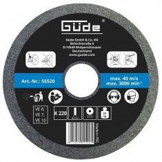 Disc abraziv pentru polizor de banc Guede Gude55520 O 200x40x20 mm K220