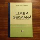 LIMBA GERMANĂ Manual anii III și IV de studiu - Foamete (1983)