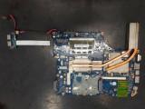 Placa de baza NSKAA LA-5361P Toshiba Satellite A500 L500 HM55 DDR3 K000093520, Contine procesor, HP