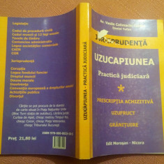 Uzucapiunea. Practica judiciara - Vasile Calimachi Cartas, Daniel Tufan