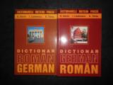 EMILIA SAVIN, IOAN LAZARESCU - DICTIONAR ROMAN-GERMAN / GERMAN-ROMAN 2 volume