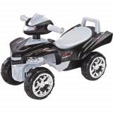 Vehicul Ride-On Mini Raptor 2 in 1 cu Sunete si Lumini Gri, Toyz