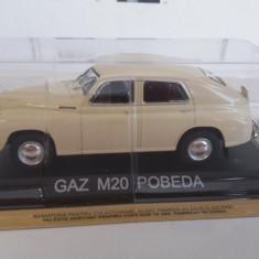 macheta gaz m20 pobeda + revista masini de legenda nr.13 - 1/43, noua.