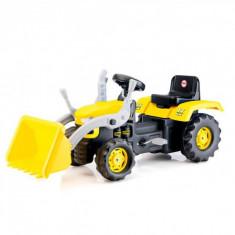 Tractor excavator cu pedale - Dolu