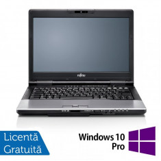 Laptop FUJITSU SIEMENS Lifebook S752, Intel Core i3-3110M 2.40GHz, 4GB DDR3, 320GB SATA, DVD-RW + Windows 10 Pro, 14 Inch