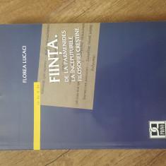 Florea Lucaci - Fiinta - de la parmenides la incputurile filosofiei crestine