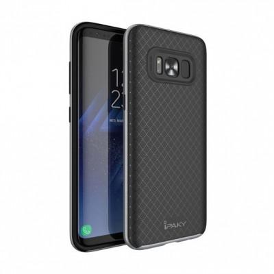 Husa SAMSUNG Galaxy S8 Plus - Ipaky Neo Hybrid (Gri) foto