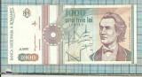 Bancnota 1000 lei 1991 seria A0007..719