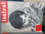 """Revista """"Teatrul""""anii 1960-1968."""