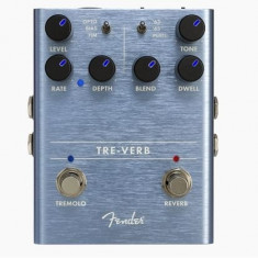 Fender Pedal Tre-Verb Tremolo/Reverb