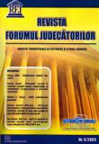 Cumpara ieftin Revista Forumul Judecatorilor - Nr. 4 2009