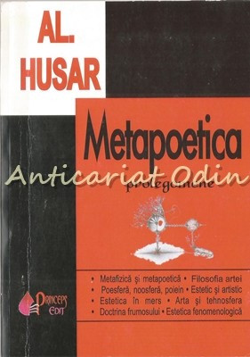 Metapoetica. Prolegomene - Al. Husar foto