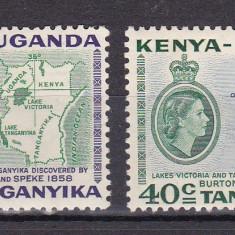 KUT  1958  MI 106-107  vederi  harta  MLH  w59