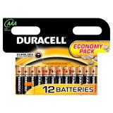 Aproape nou: Baterie alcalina Duracell AAA sau R3 cod 81480556 blister cu 12bc
