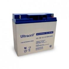Acumulator 12V 18Ah Ultracell UL18-12