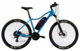 Bicicleta Electrica Devron Riddle W1.7 E Bike Albastru M 27.5 Inch