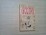 THEORIE DE L`ART MODERN -  Paul Klee -  Gonthier, 1964, 172 p.; lb. franceza