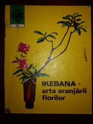 Ikebana- Arta aranjarii florilor nr. 48 foto