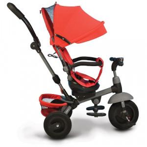 Tricicleta cu Sezut Rotativ si Functie MP3 King Verde