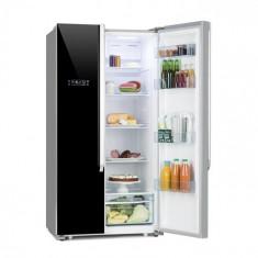 Klarstein Grand Host XL, combinație de frigider cu congelator, model standard, 517 litri, neagră
