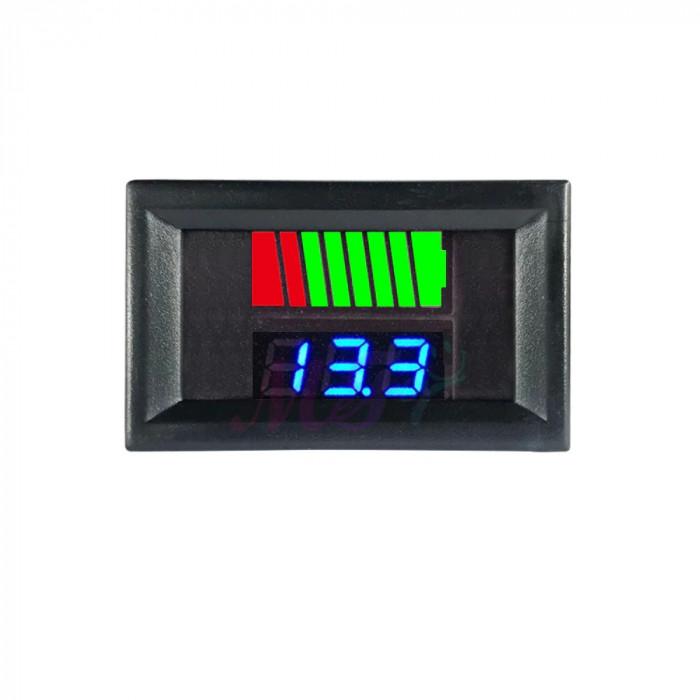 Indicator STARE nivel BATERIE auto moto bicicleta trotineta 12V 24V 48V 60V 72V