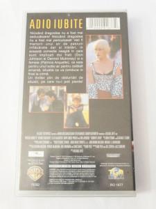 Caseta video VHS originala film tradus Ro - Adio Iubite
