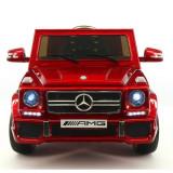 Masina electrica Mercedes Benz G65 AMG 12V cu LED SSO1013
