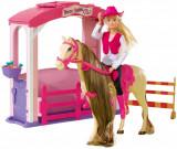 Set papusa Steffi cu cal si grajd, Simba