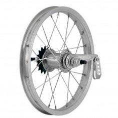 Roata Spate Bicicleta 20x1.50 - 1.75 - Aluminiu Dubla - cu filet