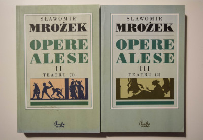 Slawomir Mrozek - Opere alese (vol. 2-3) (Teatru) foto