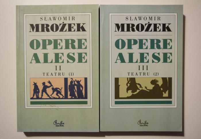 Slawomir Mrozek - Opere alese (vol. 2-3) (Teatru)