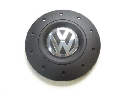 Capac roata Volkswagen Transporter V, VI negru cu crom 79925 foto