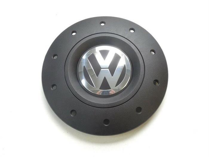 Capac roata Volkswagen Transporter V, VI negru cu crom 79925