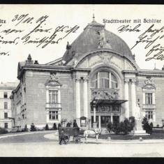 Carte Postala Veche Circulata 1917 BUKOWINA Bucovina Cernauti Czernowitz, Fotografie