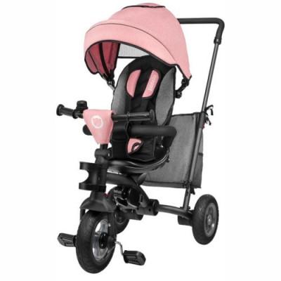 Tricicleta Multifunctionala Pliabila cu Sezut Reversibil Tris Rose/Grey foto