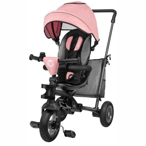 Tricicleta Multifunctionala Pliabila cu Sezut Reversibil Tris Rose/Grey
