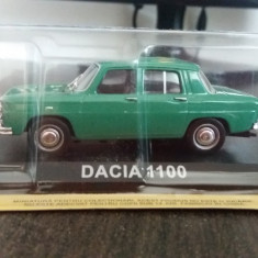 macheta dacia 1100 masini de legenda - deagostini, scara 1/43, noua.