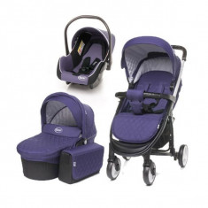 Carucior 3 in 1 Atomic 4Baby Purple