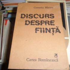 Discurs despre fiinta – Corneliu Mircea
