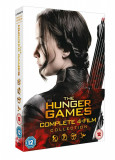 Filme The Hunger Games / Jocurile foamei 1-4 DVD BoxSet Complete Collection, Engleza, columbia pictures
