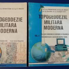 RWX 62 - TOPOGGEODEZIE - MILITAR 1993 - 2 VOLUME - PIESA DE COLECTIE