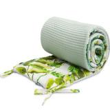 Protectie laterala pentru patut 180 x 30 cm Sensillo, Verde